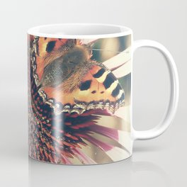 The Butterfly and the Flower Coffee Mug