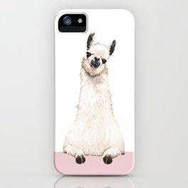 hi! Llama iPhone Case