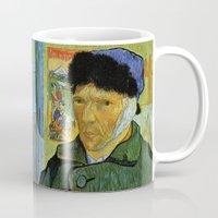 van gogh Mugs featuring Van Gogh by Palazzo Art Gallery