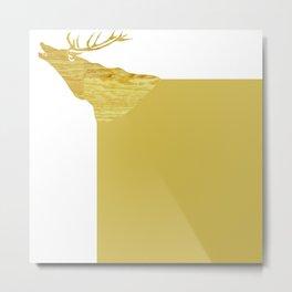 hirsch  Metal Print
