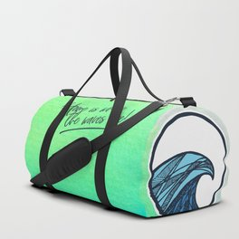 Home is where the waves are Duffle Bag