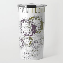 Team Tesla Travel Mug