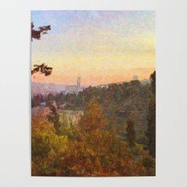 Jerusalem Hills Poster