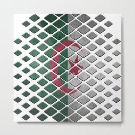 Algeria Metal Print