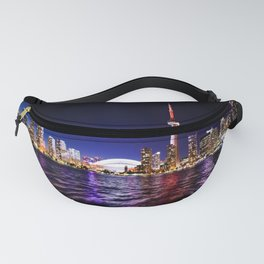 toronto city cn tower skydome Fanny Pack