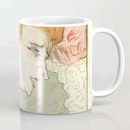 "Henri de Toulouse-Lautrec ""Mademoiselle Marcelle Lender, en Buste"" Coffee Mug"