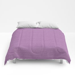 Violet Tulle Wood Grain Color Accent Comforters
