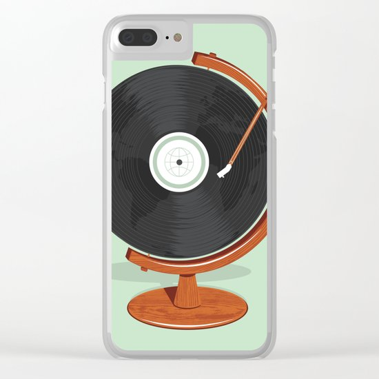 World Record Clear iPhone Case