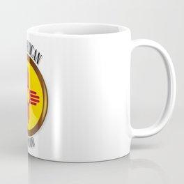 New Mexico Proud Flag Button Coffee Mug
