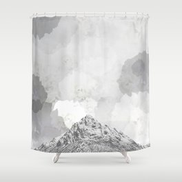 Rosie's mountain Shower Curtain