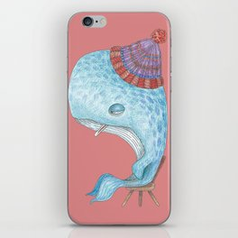 Madeleine, la Baleine iPhone Skin
