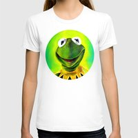 muppets T-shirts featuring The Muppets- Kermit the Frog by Kristin Frenzel