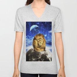 Grumpy Lion Unisex V-Neck