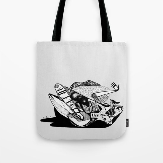 Wet boy - Emilie Record Tote Bag