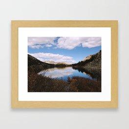 Long Lake Framed Art Print