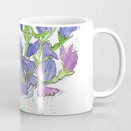 Sweet Pea Flowers Coffee Mug