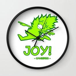 Joy! - Kanebes - Wall Clock