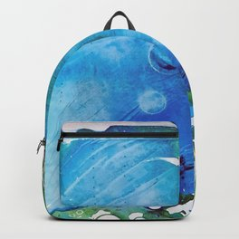 Ice Caps, Ice Bubbles, Environment Backpack