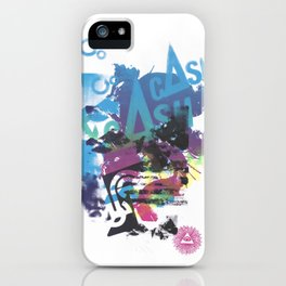 Cash Silk 002 iPhone Case