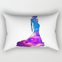 Galaxy Dress Rectangular Pillow