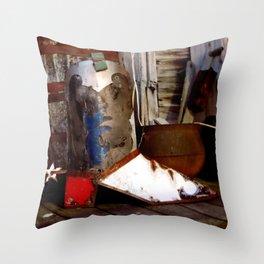 The Cowboy Boot Throw Pillow
