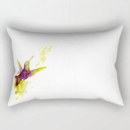 Oiseau magenta Rectangular Pillow