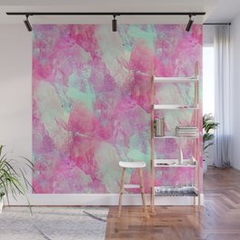 Abstract glass effect Wall Mural