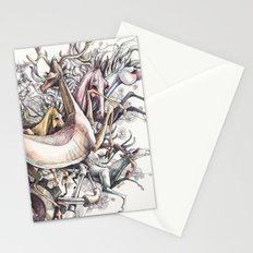 Twisted Menagerie Stationery Cards