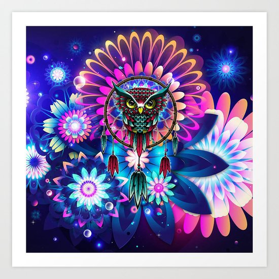 Owl Dream Art Print