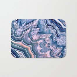 Agate ornaments Bath Mat