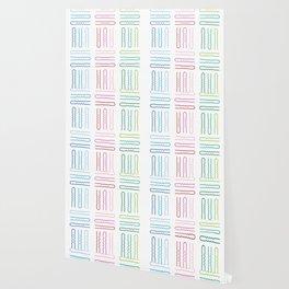 Hair Stylist Pattern Wallpaper