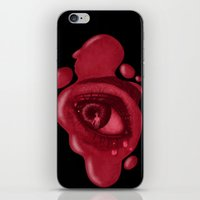 psycho iPhone & iPod Skins featuring PSYCHO by rodouyeha