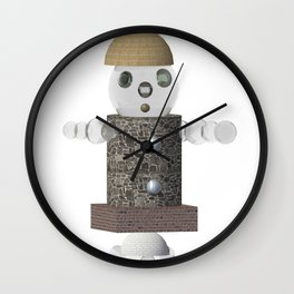 My Cute little Robot Wall Clock
