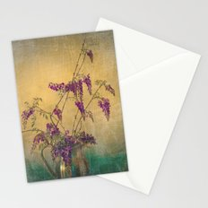Vintage Wisteria Flower Vine Still Life Stationery Cards