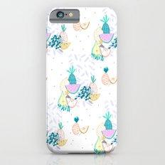 Fruiti tutti. Fruit, illustration, pattern, print, pineapple,  iPhone 6s Slim Case