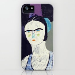 swimmer #2 iPhone Case