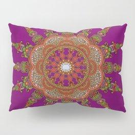 Pink Sunrise African Ankara Pillow Sham