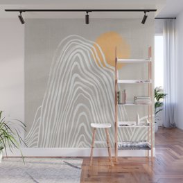 Echo mountain Wall Mural