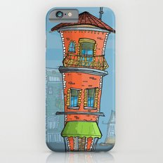 Lonely street nice building iPhone 6 Slim Case