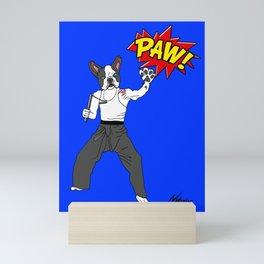 PAW POW - Kungfu Dog Mini Art Print