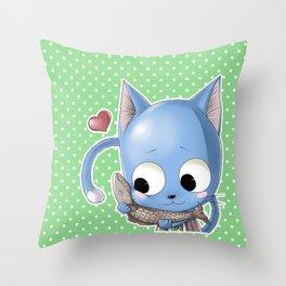 Happy Throw Pillow