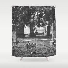 Headstones Shower Curtain