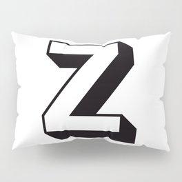 Letter Z ... As Easy As ... Pillow Sham