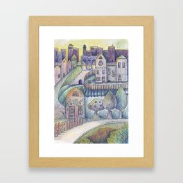 My little town Framed Art Print