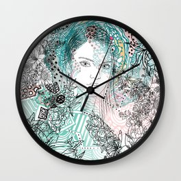 The Flying One Wall Clock