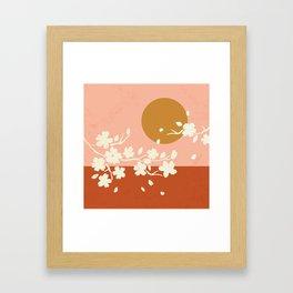 Sakura Blossom Bliss Framed Art Print