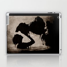 The kiss of the mermaid Laptop & iPad Skin