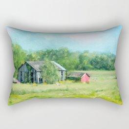 Ohio Barn Rectangular Pillow