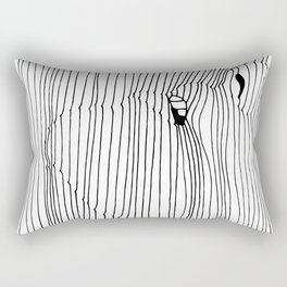 Trance Rectangular Pillow