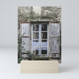 Old Window Mini Art Print